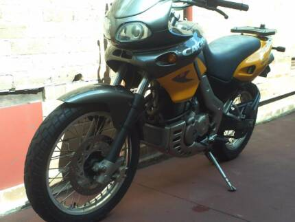 CAGIVA CANYON 500 1999 MODEL 9130KM PRICE FIRM.