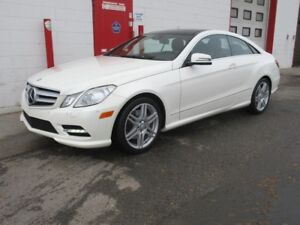 2013 Mercedes-Benz E350 4matic Coupe ~ 67,000km~ Nav ~ $28,999