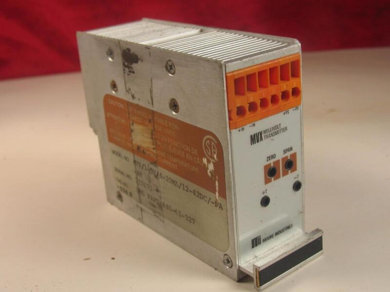 Moore Industries MVX Millivolt Transmitter Part # 40-61-327