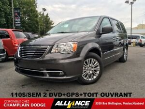 2016 Chrysler Town & Country TOURING CUIR,TOIT,NAVIGATION,DVD,VR