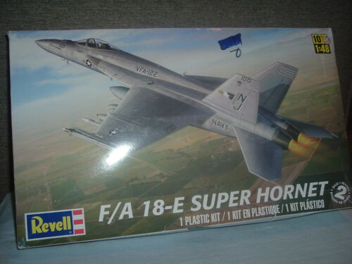 Revell Military F/A 18-E Navy Super Hornet 10+ 1:48 Scale,Navy Hornet Model.