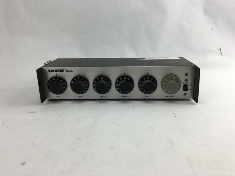 Shure Brothers M68A Microphone Mixer