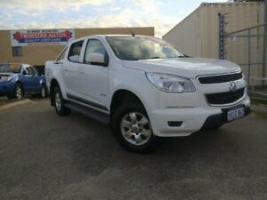 2012 Holden Colorado RG LT (4x2) White 5 Speed Manual Crew Cab Pickup Malaga Swan Area Preview