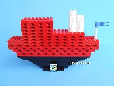 Custom Display Boat Cruiser Yacht Ship Vacation Liner Built W/ New Lego Bricks