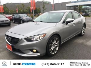 2015 Mazda 6 GT One Owner..6 Speed..Heated Leather..Moonroof....