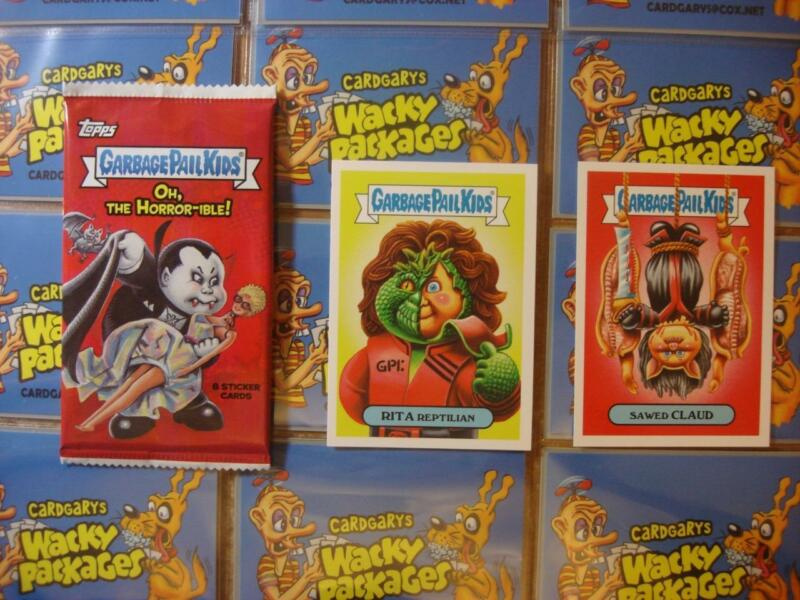 d1f91ab6a71 2018 Topps Garbage Pail Kids Oh The Horror-ible! GPK Complete 200 Card Base