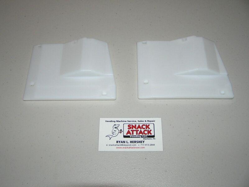 (2) DIXIE NARCO 2145,5000,5591 BEV MAX VENDING MACHINE 8 & 12oz RED BULL SHIMS