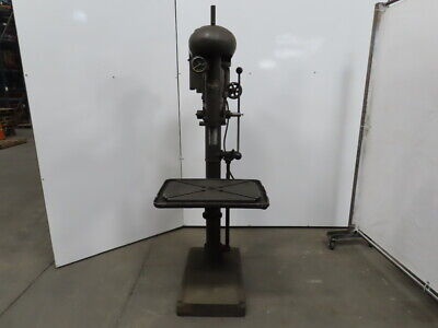 Sibley 24 Variable Speed Drill Press 8 Spindle Travel 220440v 3 Phase