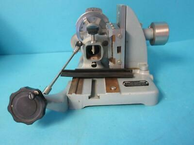 American Optical Corp Model 840 Microtome Without Knife Holder Lab Laboratory