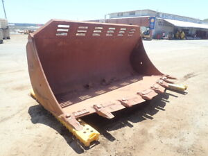 3500mm OM Spade Mouth Loader Bucket with Hitch (To Suit 980H Wheel Loader) 6/7440 Midland Swan Area Preview