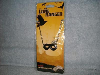 The Lone Ranger Texas Mask Necklace Prop Cosplay Costume Disney NECA - Texas Ranger Costume