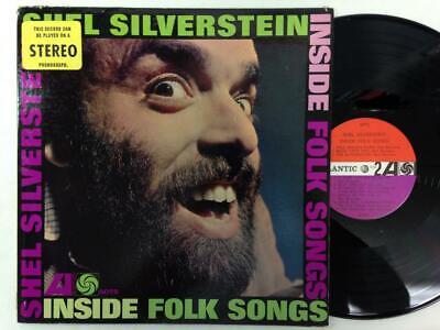 SHEL SILVERSTEIN LP: Inside Folk Songs , NM, Atlantic Records 1962 Inside Folk Songs