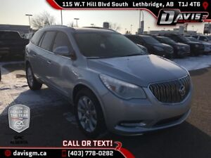 2016 Buick Enclave Premium AWD, 7 PASSENGER, HEATED/COOLED LE...