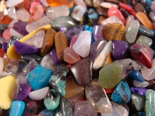 TUMBLED POLISHED GEMSTONE WORLDWIDE MIX - over 1000 Carats in Lot 75+ Gems