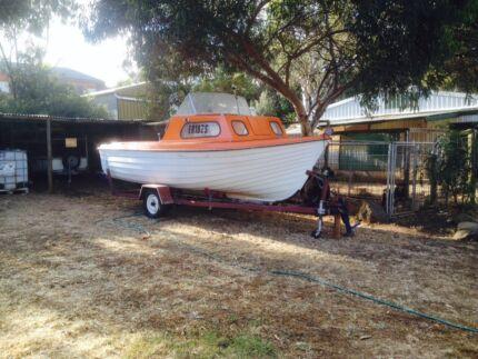 Dealtry Half Cabin 18ft. Swap/Trade Kanmantoo Mount Barker Area Preview