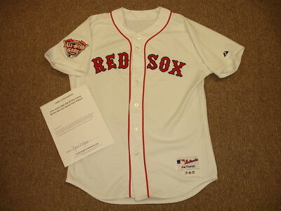d7e056370 Lynn Jones 2005 MLB All Star Game Boston Red Sox Game Used Home Jersey w   LOA