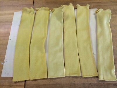 Steel Gripkt-870-18 18 2-ply Kevlar Knit Sleevs With Thumb Slot Lot Of 6
