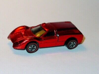 Hot Wheels Redline US FORD J CAR -Red Spectraflame, NICE