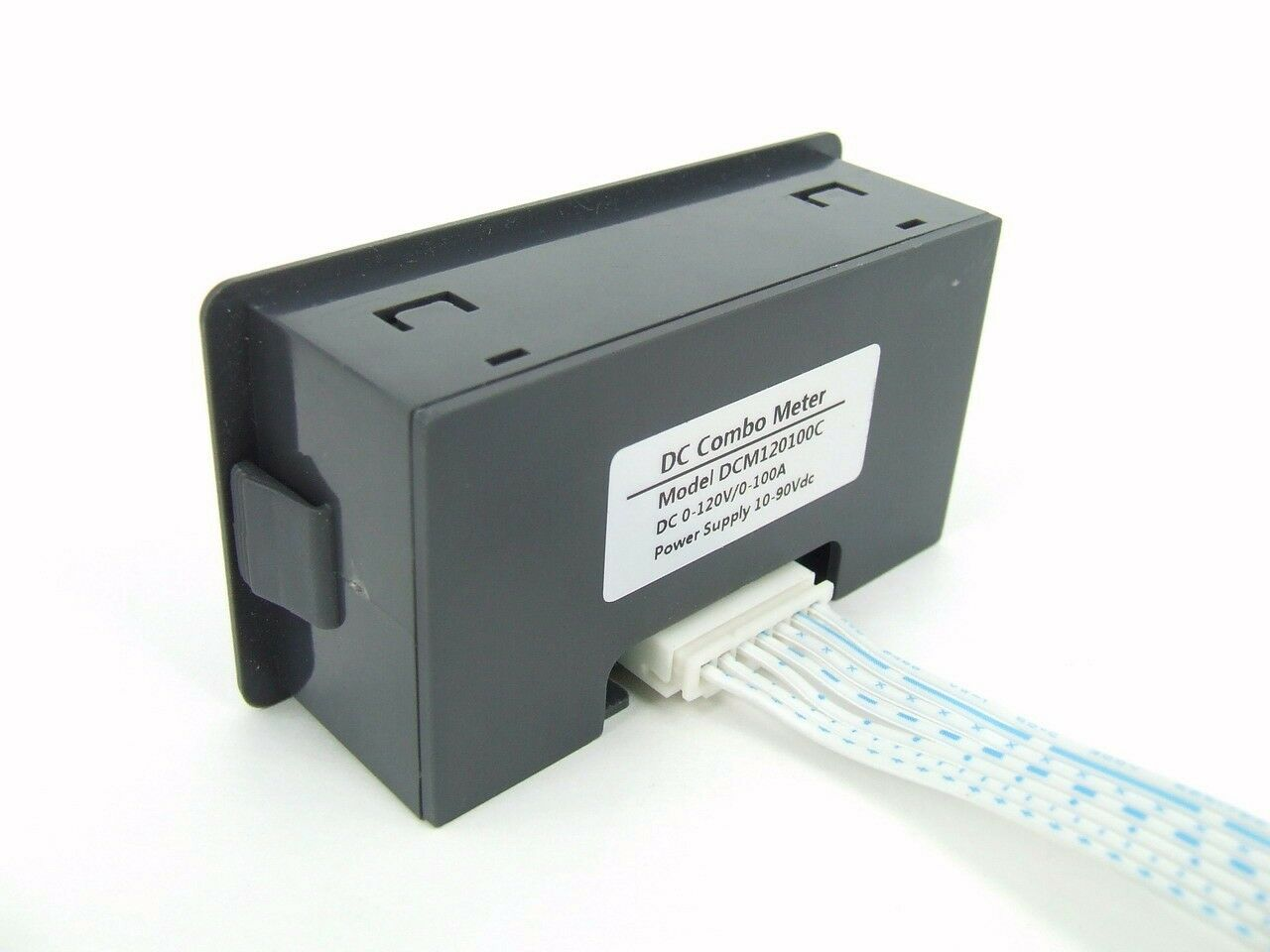 Dc Volt Hour Meter : Dc v a voltage current ampere hour meter battery