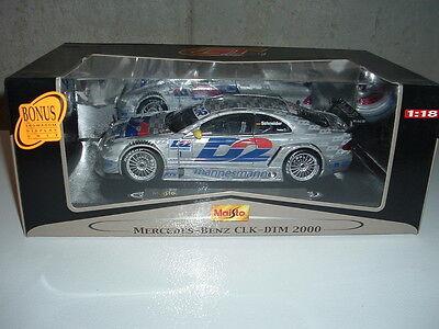 Maisto Mercedes Benz CLK DTM 2000 GT Racing #18 1:18 diecast NEW