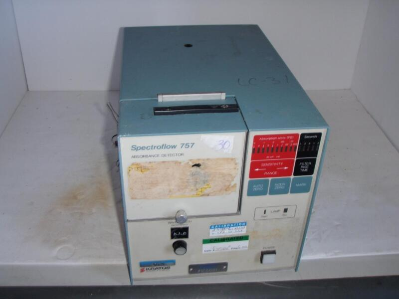 Kratos Spectroflow 757 Absorbance Detector Model 9000-7571