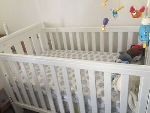 Boori country collection cot & freebies Clemton Park Canterbury Area Preview