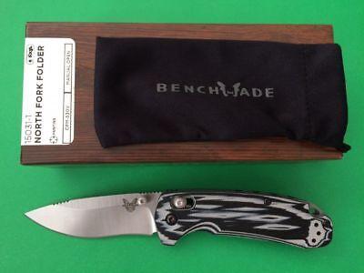 Benchmade Knife 15031-1 North Fork Folder G10 Handle with S30V Blade & Axis (S30v Folder)