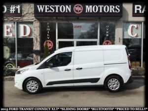 2015 Ford Transit Connect XLT*SLIDING DOORS*BLUETOOTH*PRICED TO