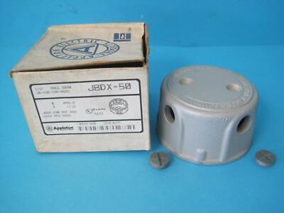 Brand New Appleton Electric Mall Iron Conduit Outlet Box Unilet 12 Jbdx-50