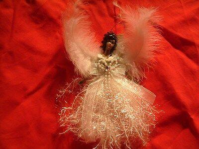 Christmas Angel Ornaments (Black Angel Christmas Ornament Decoration African)