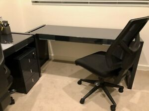 Two Quality Office Desks and Chairs