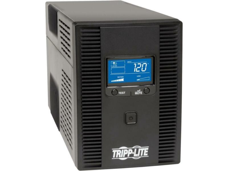 Tripp Lite SMART1500LCDT 1500 VA 900 W UPS Back Up Smart Tower LCD AVR 120V USB