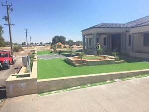 40 mm Premium artificial grass / fake lawn Malaga Swan Area Preview