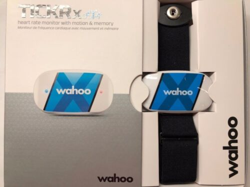Wahoo TICKR X Heart Rate Monitor and Workout Tracker with Memory for iPhone and Android WFBTHR02P