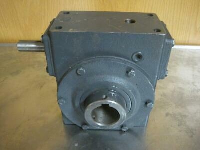 New Hub City Worm Gear Speed Reducer 201 Ratio 1750 Max Hp Model 322
