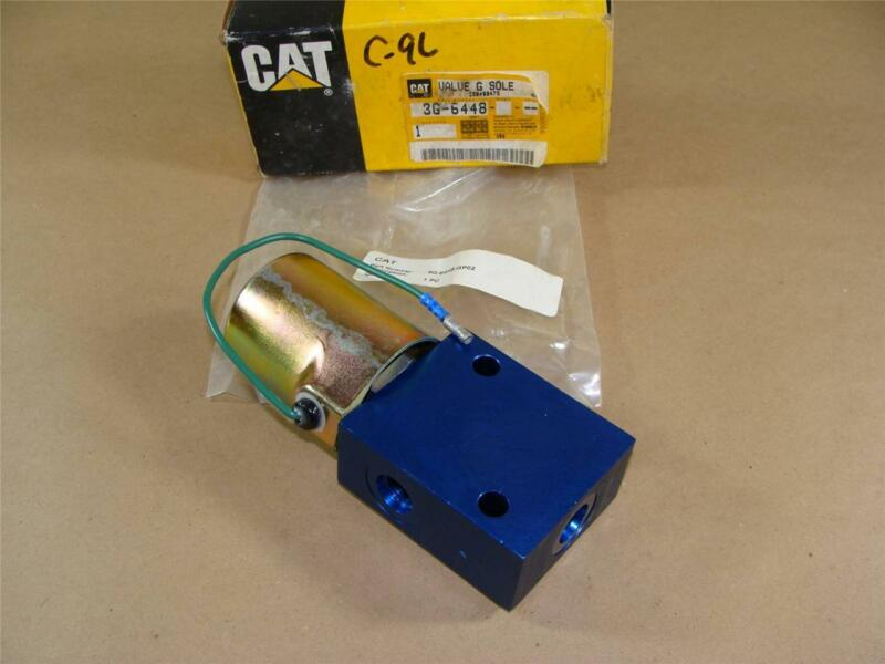 NEW OEM CATERPILLAR 3G-6448-GP02 CAT 3G 6448 HYDRAULIC GP SOLENOID VALVE MINT