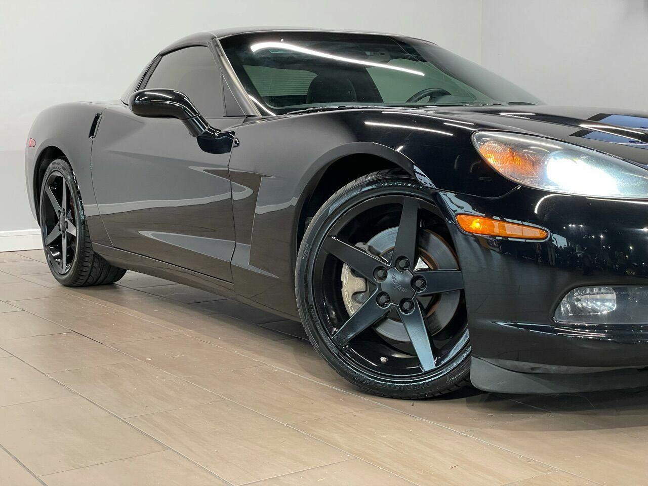 2010 Black Chevrolet Corvette     C6 Corvette Photo 10