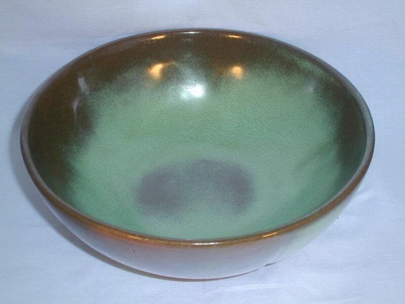 """Frankoma """"Plainsman"""" 8¼"""" Serving Bowl Prairie Green"""