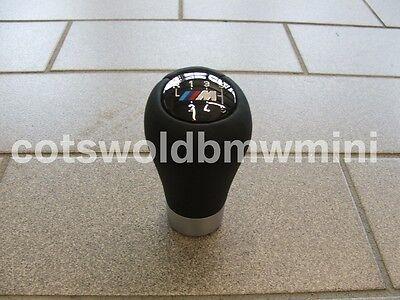 Genuine BMW Six Speed Leather Manual M-Tech Gear-knob