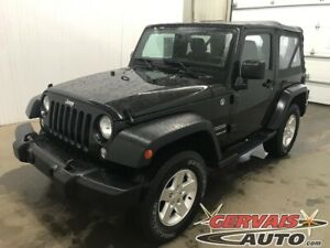 2015 Jeep Wrangler Sport 4x4 A/C MAGS Convertible