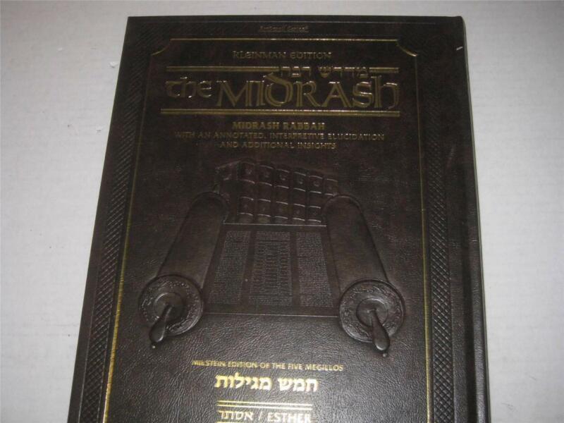 KLEINMAN EDITION MIDRASH RABBAH: MEGILLAS RUTH AND ESTHER Artscroll