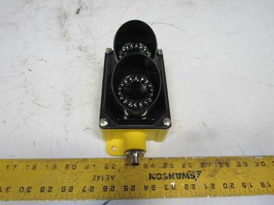Banner Sp250grpq 15-30vdc 85-130vac Red Green Traffic Dock Process Control Light