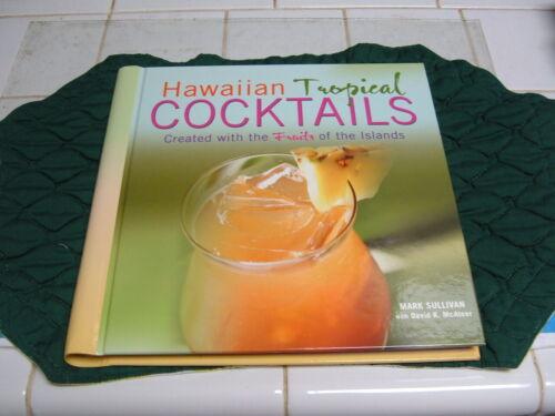 "HAWAII ""HAWAIIAN TROPICAL COCKTAILS CREATED W/THE FRUITS of ISLANDS"" RECIPE BOOK"