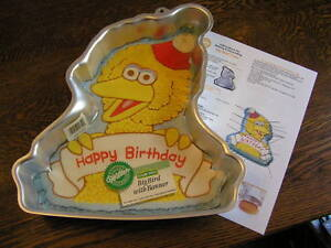Big Bird Cake Pan Instructions