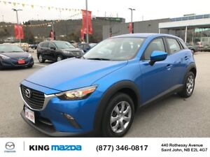 2016 Mazda CX-3 GX LOW KMS..ONE OWNER..BLUETOOTH..BACKUP CAM..GO