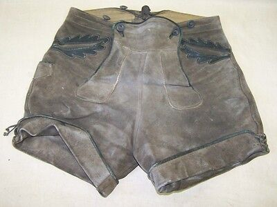 Beautiful Old Leather Trousers, Federal 38cm