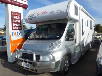 Jayco Optimum Motorhome Perth 7300 Northern Midlands Preview