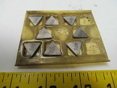 Newcomer Tpg322 Carbide Insert Grade-nt5 Style 25764322 8 Pcs