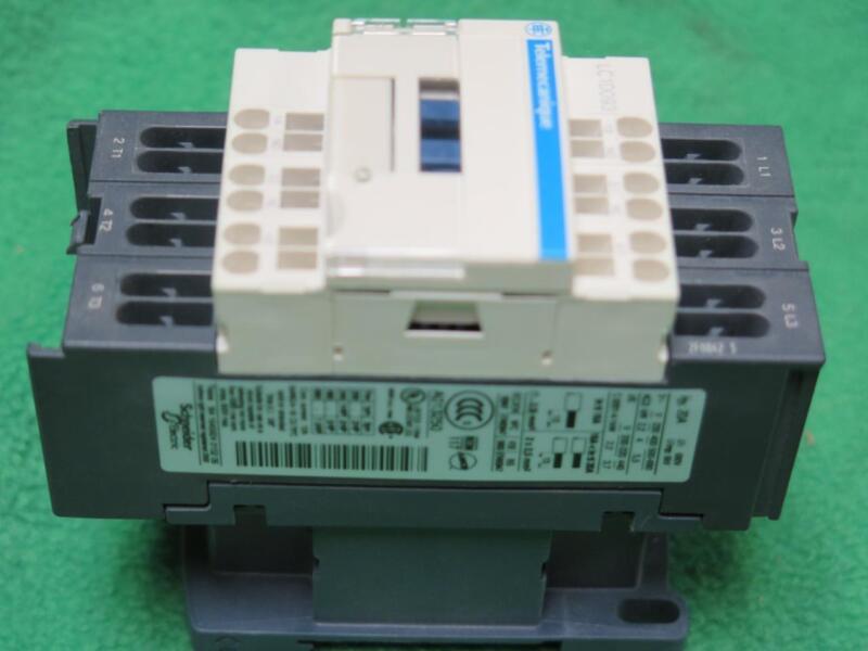 TELEMECANIQUE SQUARE D  LC1D093G7 CONTACTOR 120 V COIL 50/60Hz 5HP/480V 4KW/400V