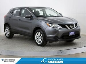 2019 Nissan Qashqai S AWD, Back Up Cam, Heated Seats!